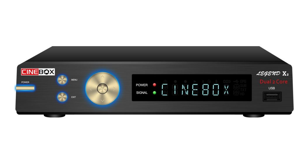 Receptor Cinebox Legend X2