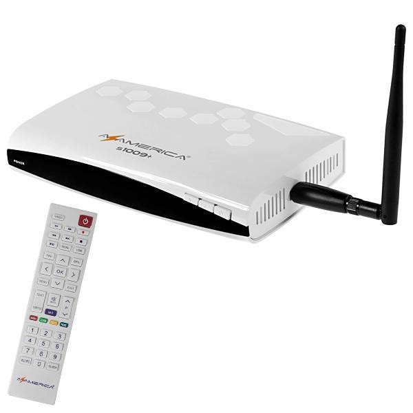 Receptor Azamerica S1009 Plus 4K ACM H265 Full HD
