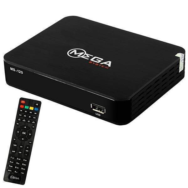 Receptor Mega System MS-120 Full HD com HDMI/USB/
