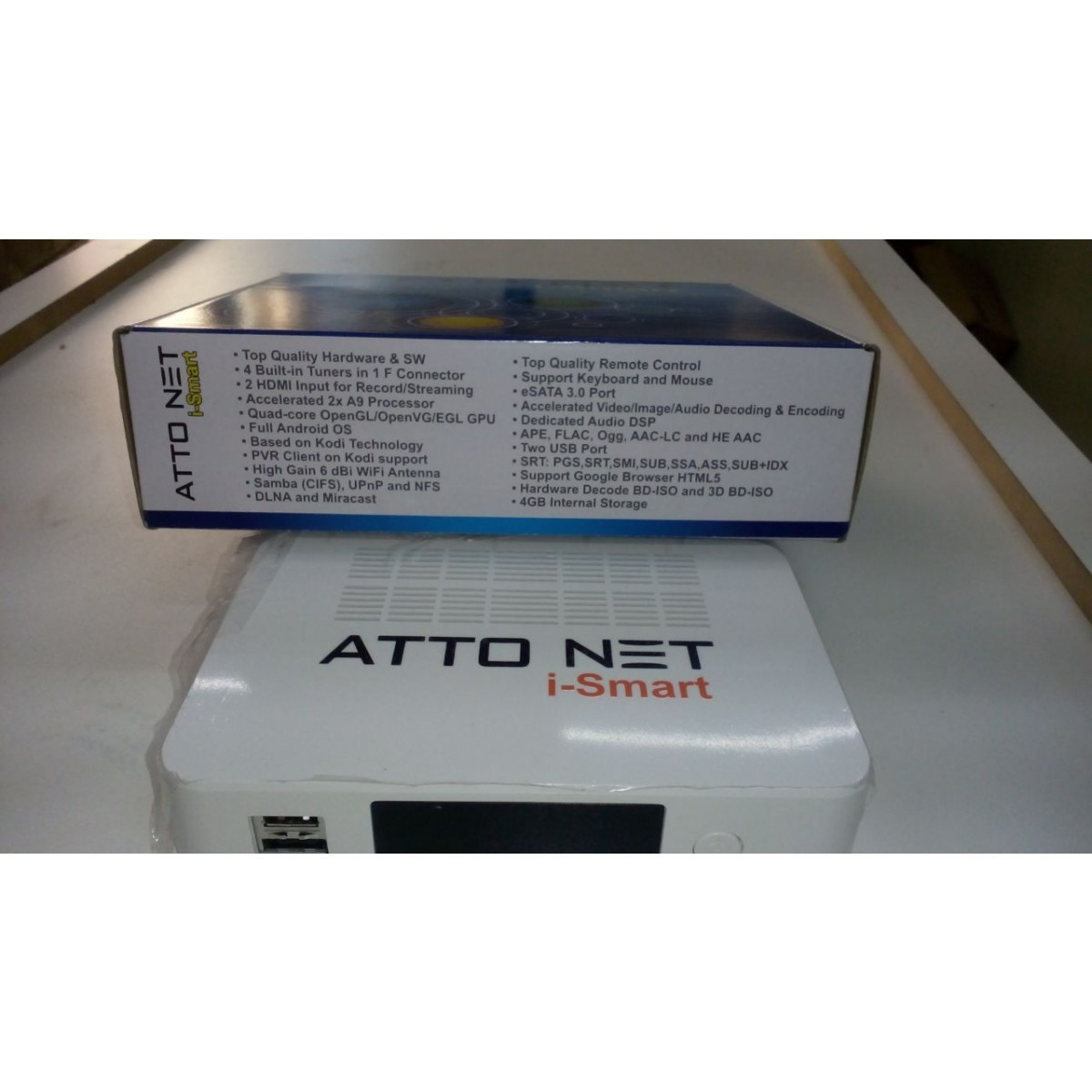 Receptor Atto Net I-Smart HD - Android