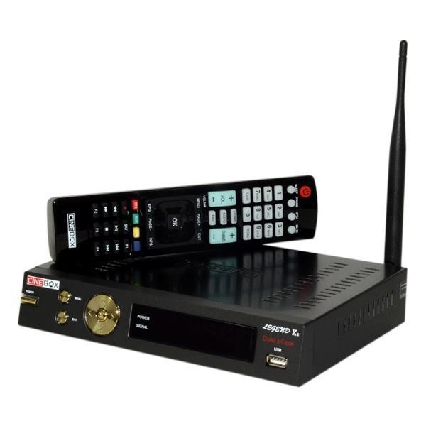 Receptor Cinebox Legend X2 Wi-Fi