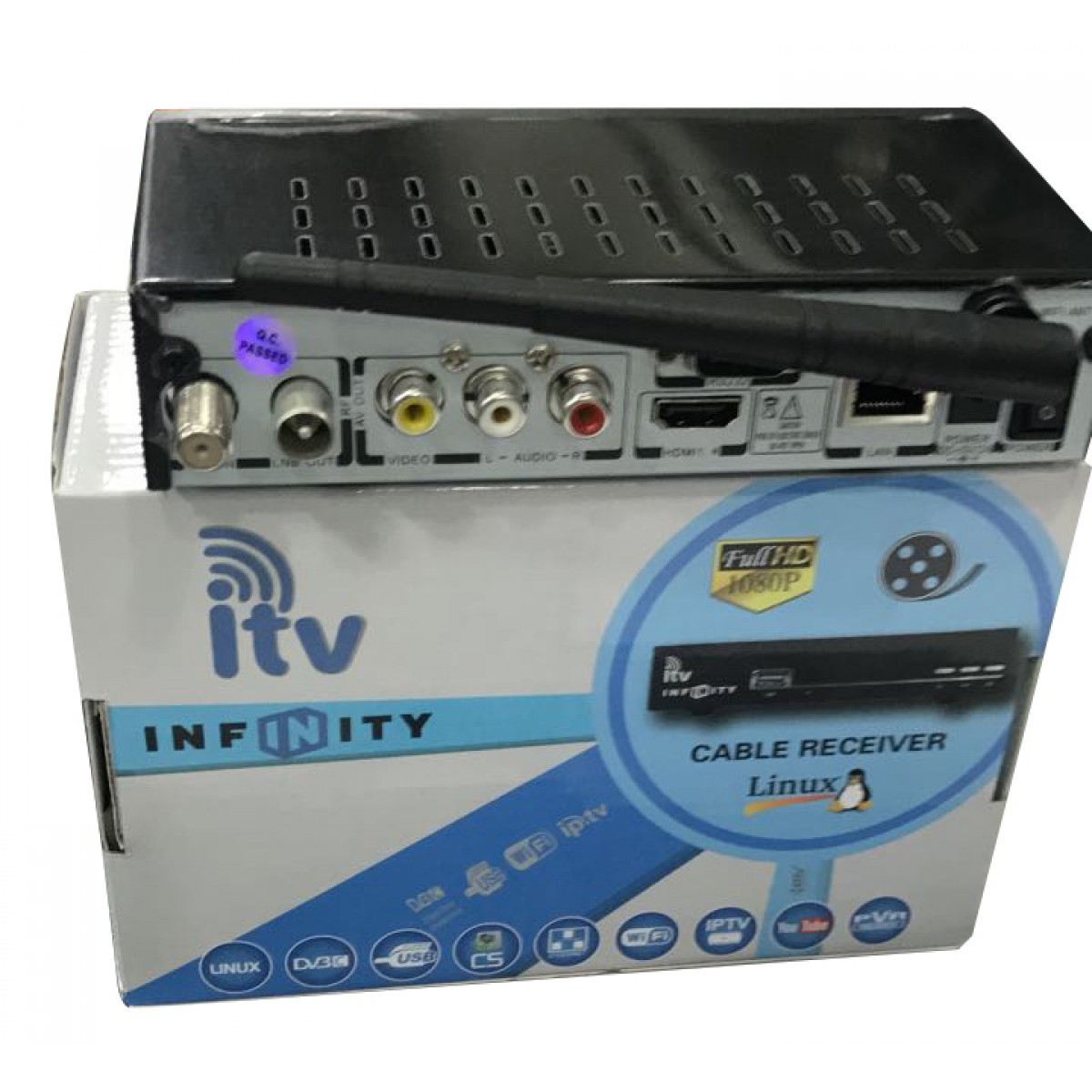 Receptor ITV Infinity Cabo Wi-Fi