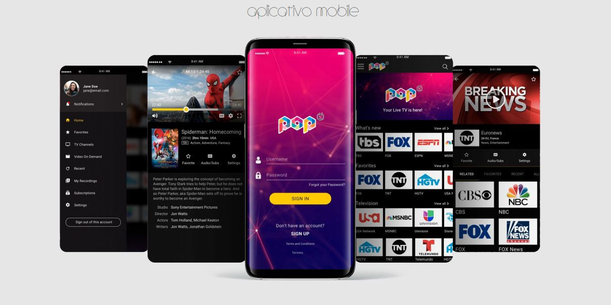 Pop TV Light 4K Ultra HD Wi-Fi IPTV