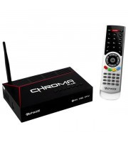 Receptor Alphasat Chroma Plus Full HD com Wi-Fi/USB/HDMI