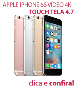 Apple iPhone 6s Vídeo 4K Touch Tela 4.7 3D