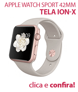Apple Watch Sport 42mm Alumínio Rosa